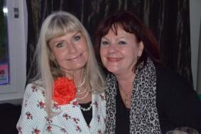 Ann Schulman med Bert-Åke Vargs fru