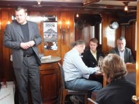 Björn Hellberg med vänner
