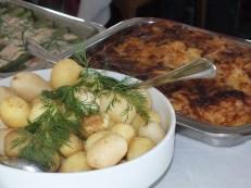 Svensk färsk potatis & Janssons frestelse
