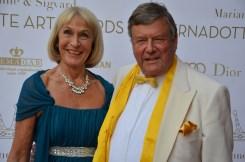 Rolf Friberg med fru