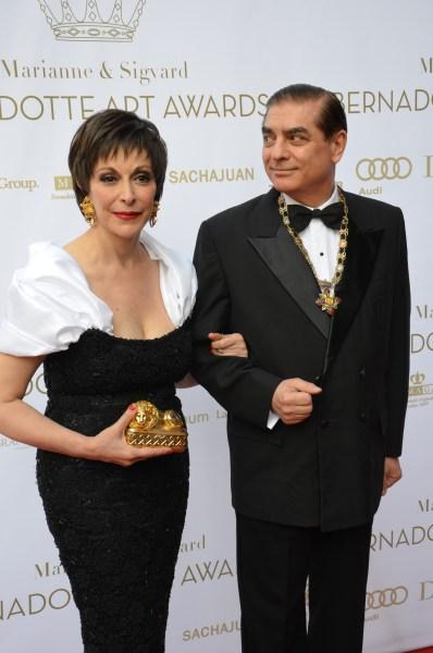 Prins Paul Philippe Hohenzollern med Prinsess hustru Lia