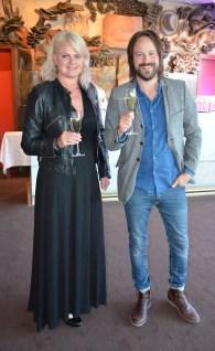 Anette Norberg med sällskap