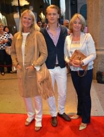 Maria Silfverschiöld, Peder Lund och Johanna Rosberg