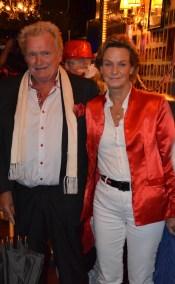 John Lindgren med fru
