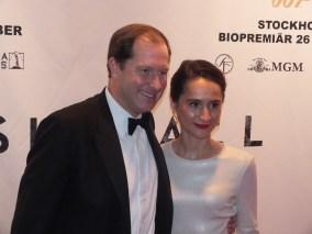 USA's ambassadörspar Mark Brzezinski med fru