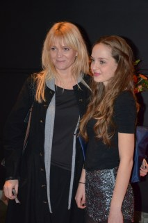 Kattis Ahlström med dotter Ebba