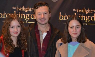Anders Ekborg med döttrar