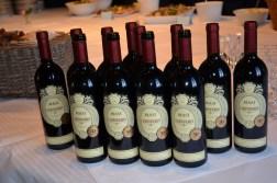 Goda viner från MASI serverades.