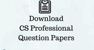 CS Professional Question Papers Dec 2017 to Dec 2008