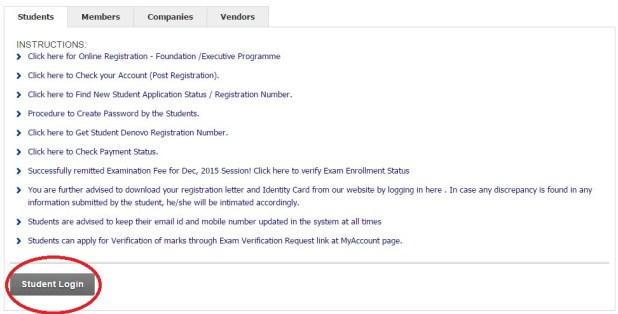 CS Online Exam Enrollment Process For June 2016 - 2