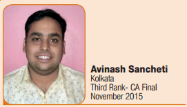 CA Final Toppers Interview Nov 2015 - 3