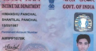 What is PAN Card? Why having PAN Card is Important?