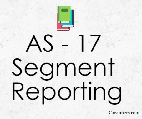 AS 17 Segment Reporting Summary Notes PDF