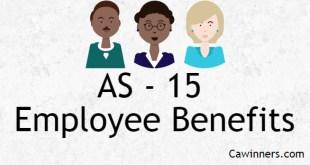AS 15 Employee Benefits Summary Notes PDF