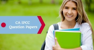CA IPCC Question Papers Nov 2018