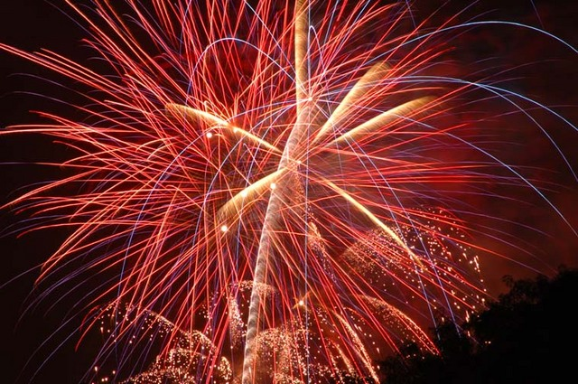 Fireworks fizzle in Township