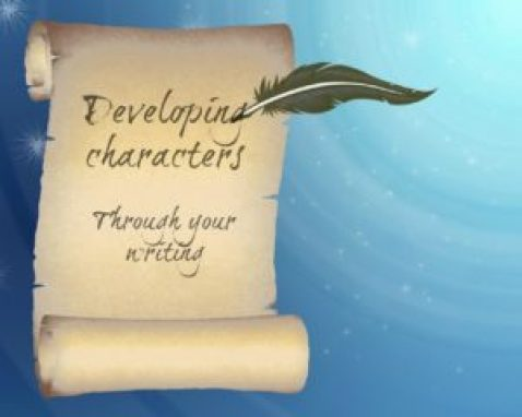 Developing characters through writing