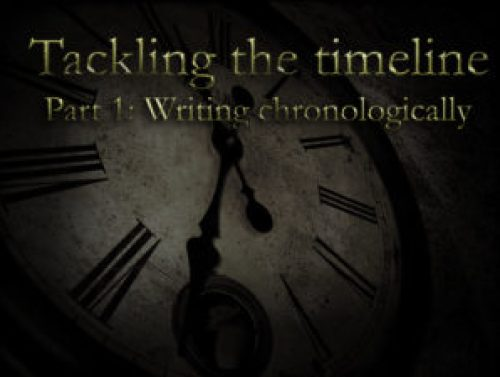 Writing chronologically