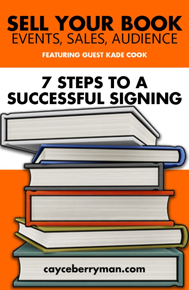 20 steps to a successful book signing