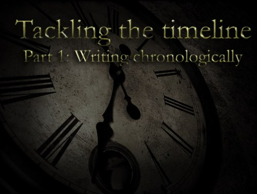 Writing chronologically