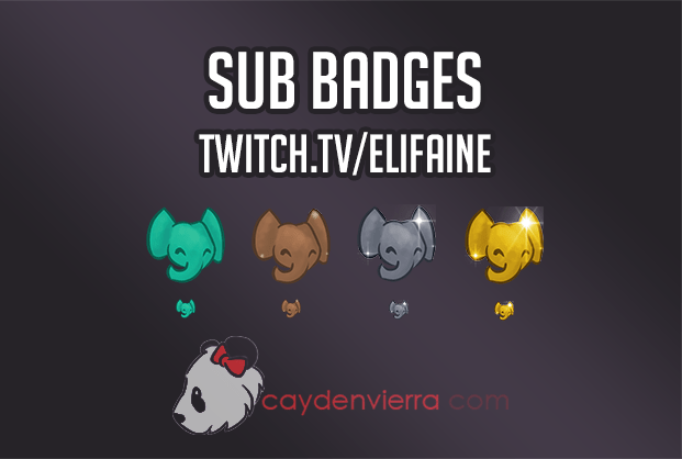 Sub Badges – Cayden Vierra