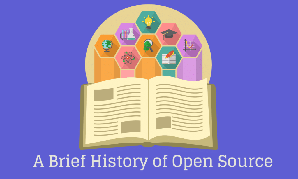 Brief history of #opensource