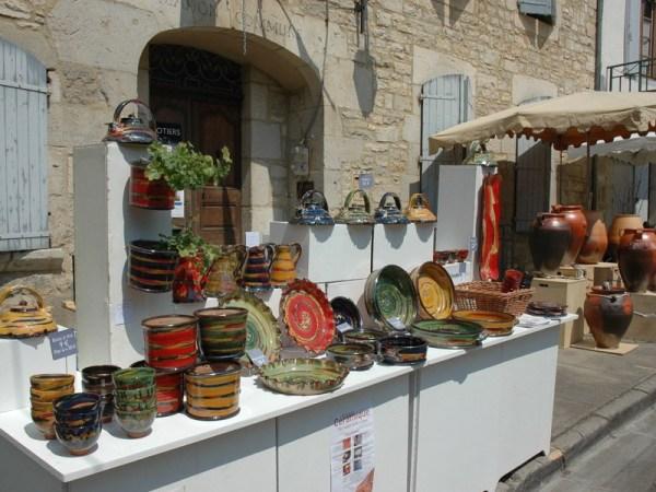 Caylus Info - Marché des Potiers