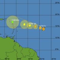 Hurricane Danny 10am Friday