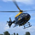 Police chopper tracks teen on stolen bike