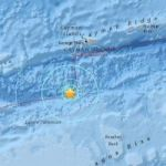 Earthquake shakes seabed 100 miles off Cayman