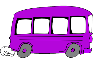 purple bus 300x200
