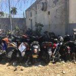 Dirt bikes stolen from under cops' noses