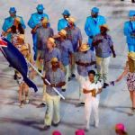 Cayman's team outfit scores on world fashion stage