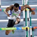 Forbes' Rio hopes end at the hurdle heats
