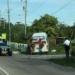 Bus crash compounds morning traffic jam