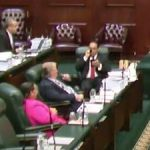 Education minister silent in budget debate