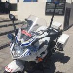 Police rider in call-out crash