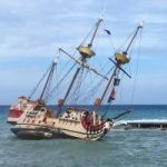 The not-so Jolly Roger runs aground again
