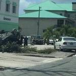 Flipped car snarls up Friday traffic