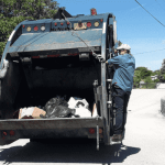 Garbage pick-up falls behind over holidays