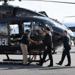 New cop chopper touches down at ORIA