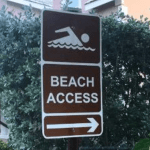 MLA takes beach access battle to LA
