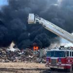 Dump fire extinguished say officials