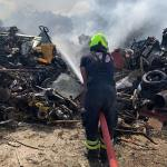 Dump fire 'under control' say officials