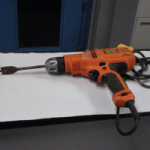 Stolen tools seized during police search