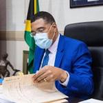 Holness to be sworn in for 3rd time