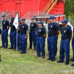 CI Fire Service trains coastguard recruits