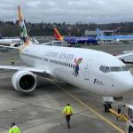 Cayman Airways' 3rd Max 8 arrives at ORIA