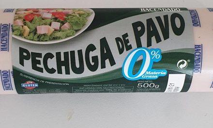 FIAMBRE PECHUGA PAVO PIEZA MINI, HACENDADO