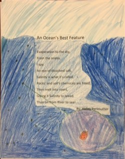 Hailey Perlmutter, 4th grade, 2nd Place